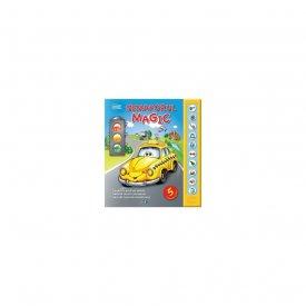 Precomanda - Semaforul magic - carte-jucarie cu 5 masinute