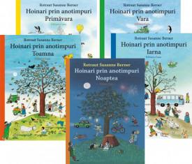 "Transport gratuit! Pachet 5 vol. ""Hoinari prin anotimpuri"": ""Primavara"", ""Vara"", ""Toamna"", ""Iarna"", ""Noaptea"""