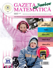 Ultimul exemplar! Gazeta matematica nr. 80 - februarie 2019