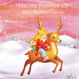 Ada, the freckled elf and Santa Claus