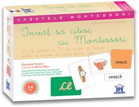 Casetele Montessori. Invat sa citesc cu Montessori