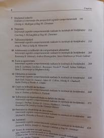 Interventii cognitiv-comportamentale in educatie - cuprins 2