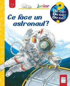 Ce face un astronau? - carte cu ferestre, integral cartonatat