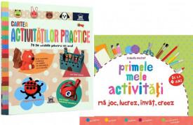 """Pachet """"Activitati practice de gradinita"""" - """"Cartea activitatilor practice"""" si """"Primele mele activitati"""""""