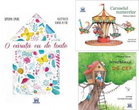 """Pachet Poezii de Simona Epure - """"O casuta cu de toate"""", """"Caruselul numerelor"""" si """"Intrebarile DE CE?"""""""