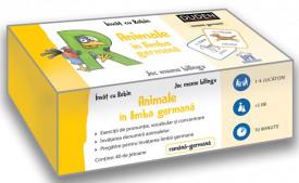 Animale in limba germana. Invat cu Robin