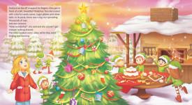 Ada, the freckled elf and Santa Claus - interior 1