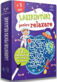 Labirinturi pentru relaxare - de la 5 ani