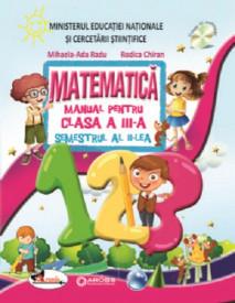 Matematica. Manual pentru clasa a III-a. 2 volume: semestrul 1 si 2 - coperta semestrul 2