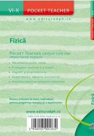 Pocket teacher. Fizica. Clasele a VI-a - a X-a - coperta 4