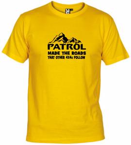 Patrol made roads...