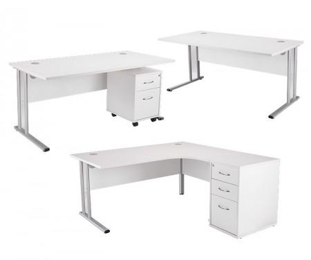 White Line kancelarijski stolovi
