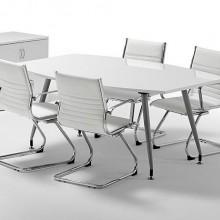 White desk sto za poslovne sastanke