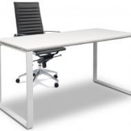 White 2 Kncelarijski radni sto