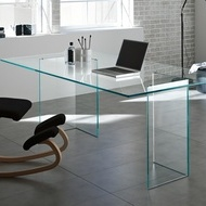 New Opal glass office Kancelariski stakleni sto.Dizajn 2108 god.