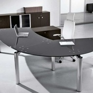 Glass Star office desk, Kancelariski stakleni sto