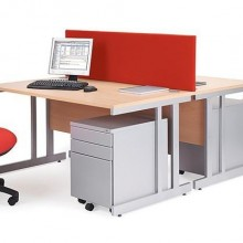 Kancelariski sto Office Red W-1