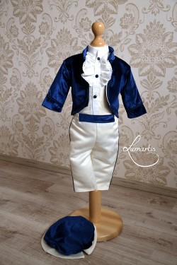 Costum botez Micul Prinț - Bleumarin