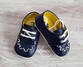 Pantofiori băieți, Bleumarin