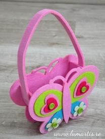 Coșuleț pentru cruciulițe - Fluture