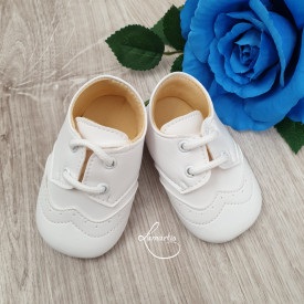 Pantofiori băieți, Alb