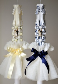 Aranjament pentru lumanare de nunta 002