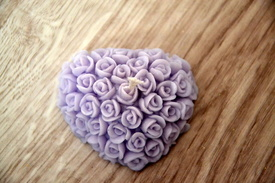 Inimioara cu trandafiri