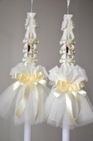 Aranjament pentru lumanare de nunta 004