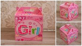 """Cutie pentru trusou - """"Baby Girl"""""""