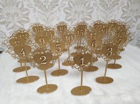 Numere pentru masă NM01