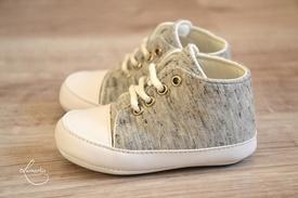 Pantofiori baieti 05, Gri