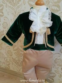 Costum botez Micul Prinț - Verde