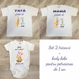 Set tricouri personalizate 001