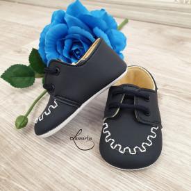 pantofiori bleumarin botez