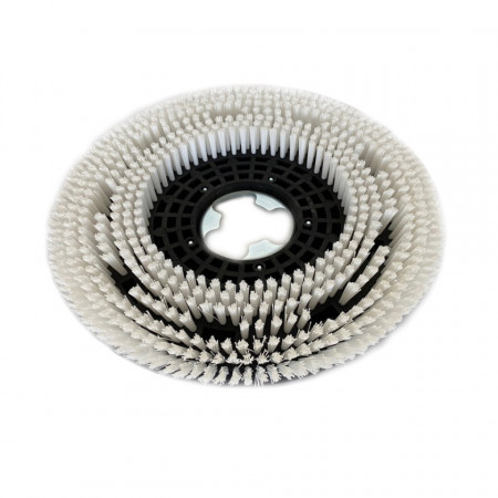 Disc perie dura pentru spălat pavimente cu mașini monodisc Mag Tools fata