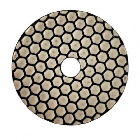 Discheta diamantata diametru 100 mm granulație 3000 la uscat Mag Tools fata