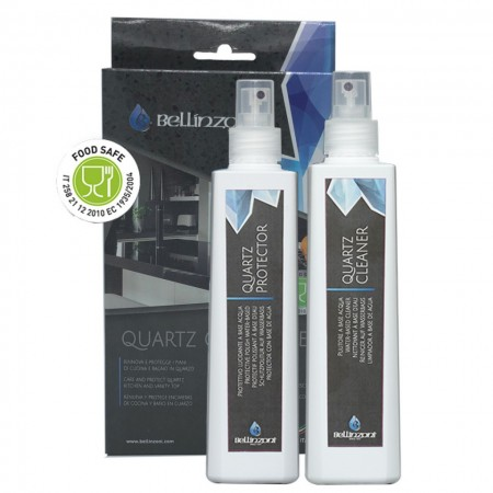 Kit curatare si intretinere QUARTZ CARE SYSTEM 2 x 250 ml