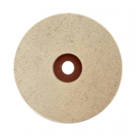 Tampon de lână pâslă diametru 178 mm Mag Tools fata