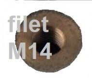 PIETRE ABRAZIVE TIP OALA (ceasca) 85/75x50 cu prindere ø 22mm