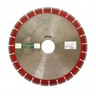 Disc cu segmente diamantate H 8 mm pentru BETON și PIETRE DURE diametru 400 mm