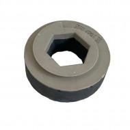 Pietre abrazive pentru șlefuit / lustruit marmura și granit cu prindere tip melc diametru 130 mm