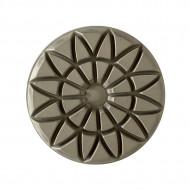Discheta diamantata cu scai (Velcro) diam. 100 mm grosime 8 mm