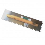 Gletiera dintata inox galvanizata 48 x 13 cm
