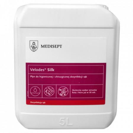 Medisept Velodes® Silk 5 Litri - dezinfectant maini si suprafete