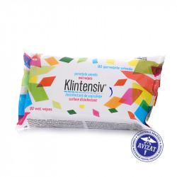 KLINTENSIV - Servetele umede dezinfectante pentru suprafete 80 buc