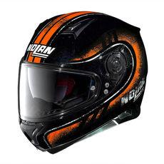 NOLAN FULL-FACE - N87 FULGOR N-COM - METAL BLACK 023