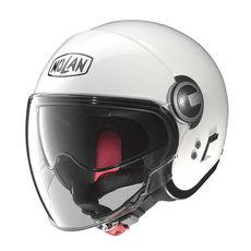 NOLAN JET - N21 VISOR CLASSIC - METAL WHITE 005