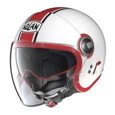NOLAN JET - N21 VISOR DUETTO - GLOSSY WHITE 008