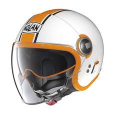 NOLAN JET - N21 VISOR DUETTO - GLOSSY WHITE 009