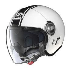 NOLAN JET - N21 VISOR DUETTO - GLOSSY WHITE 014
